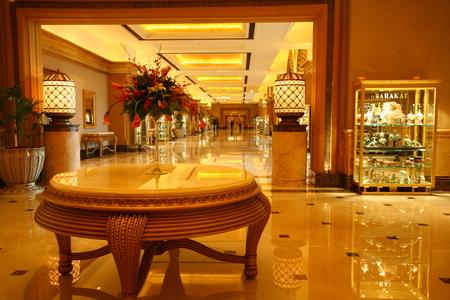 Emirates Palace Hotel, Abou Dabi, arabe Banque d'images - 81822130