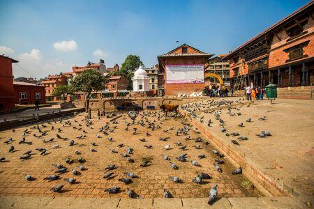 Nepal, Katmandu, Pashupatinath Temple Editorial