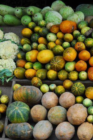 pumpkins in Spices Street