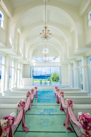 church interior at Guam