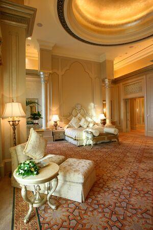 Emirates Palace Hotel, Abou Dabi, arabe Banque d'images - 81679234