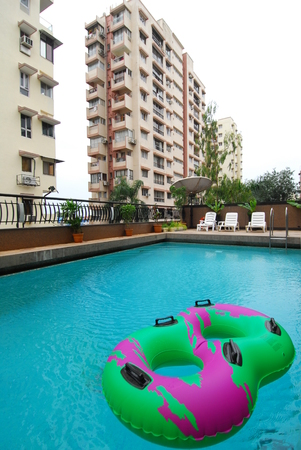 swimming pool at Fariyas hotel