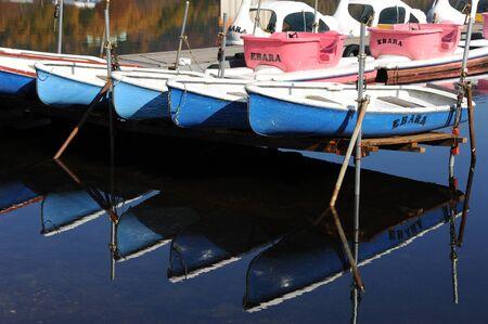 日本艇と榛名湖
