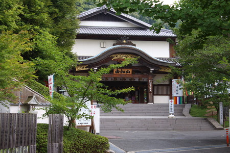 Exterior view of Kojima Rendaiji in Okayama county, Japan