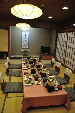 onsen: Tamatsukuri Onsen dining area Editorial