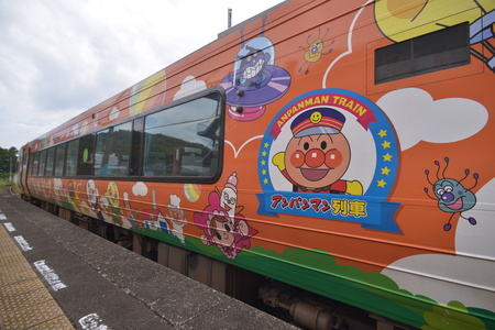 Cartoon theme trains,Japan