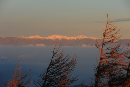 Landscape view of Mount Fuji