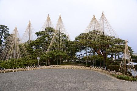 Kenrokuen Garden Japan landscape view