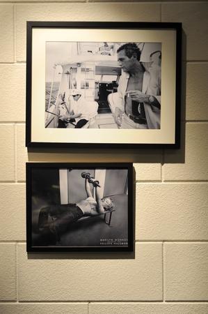 zwart en wit oude foto's Redactioneel