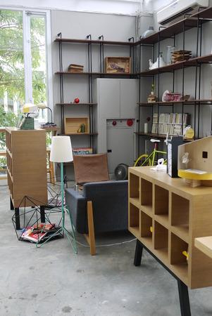 interior of a shop Editorial