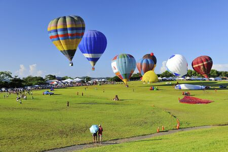 Taiwan International Balloon Festival Luyeh Hill