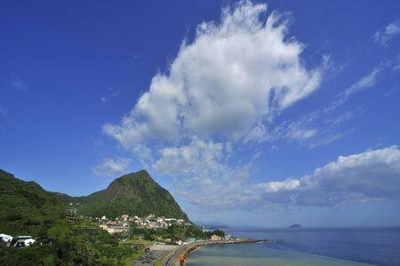 Keelung mountain scenery