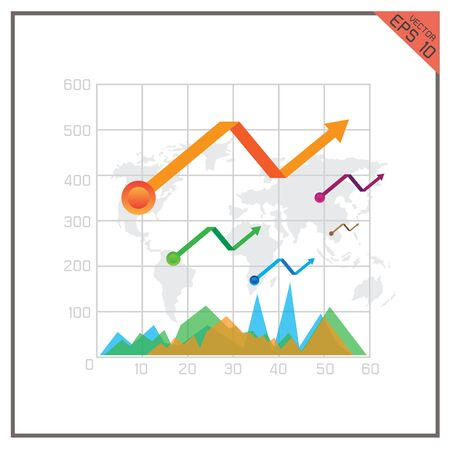 top of the world: graph chart percent business Top map world