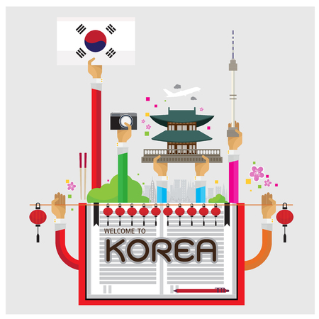 korea food: Korea Seoul lamp cozy arm and hand