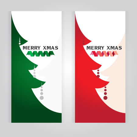 christmas tree illustration: vector Christmas Tree card illustration Illustration