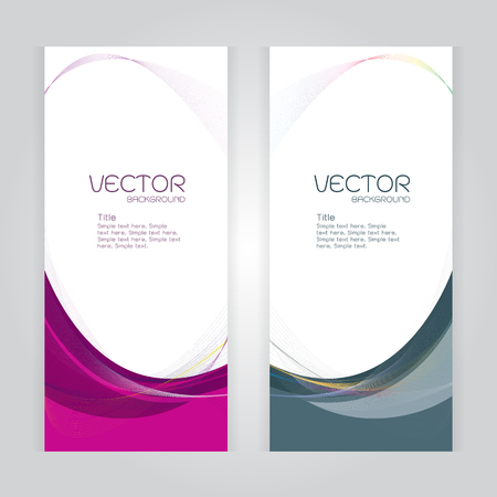 whit: vector background Abstract header pink and gray wave whit vector design on gray
