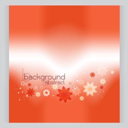 gradation: background abstract vector Orange soft area Gradation texture flower