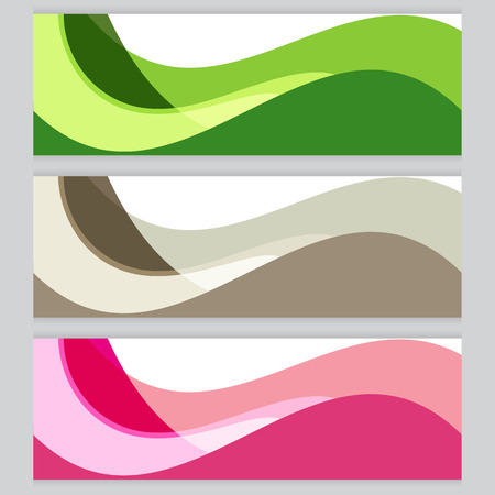 green brown: Vector Background tree frame Green, brown, pink Illustration