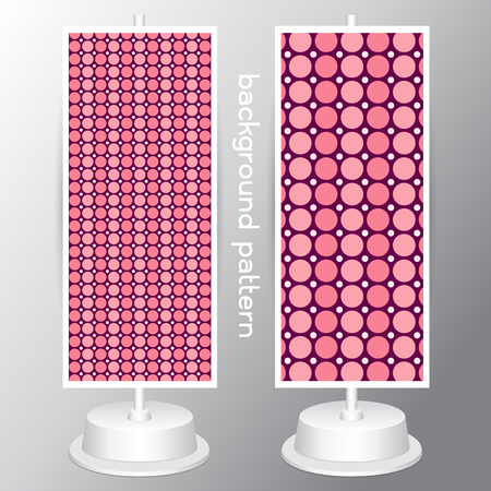 jumbo: background circle Jumbo Polka Dots, Small Polka Dots and Diagonal Stripes Patterns in Pink, Black, White and Deep Pink. Perfect for Chic Paris or Pink Pirate party Pattern Swatches made with Global Colors