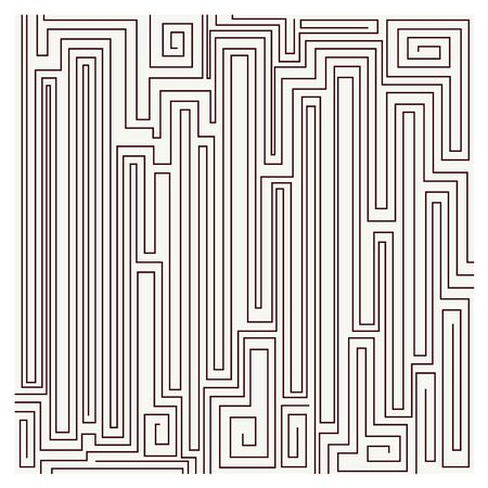 weaved: Vector seamless pattern Maze Modern linear texture. Repeating geometric background. Striped weaved grid on white background