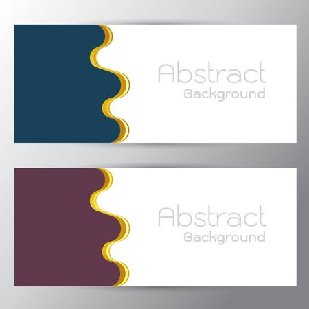 gap: Vector illustration of purple Text space gap switchingabstract curves Gradient  background with on gray background