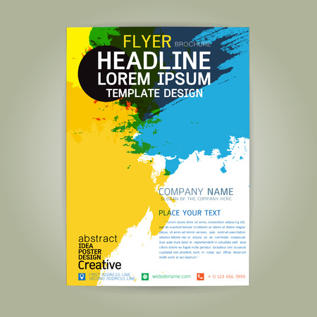 poster flyer brochure business creativity abstract a4 paper art danc party card colorful shape background festival texture disco modern banner music layout style beautiful vector