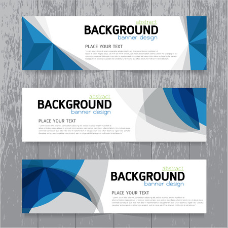 vector background banner Collection horizontal business set templates. modern geometric abstract layout for website design. simple creative cover header. in rectangle size space message text