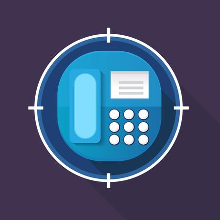 cellphone icon: Vector cellphone icon