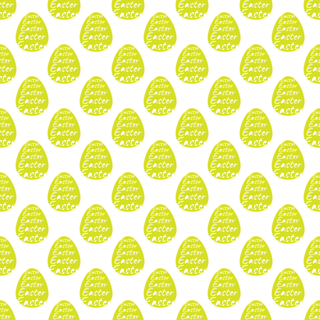 pattern with Easter eggs color. celebration. vector