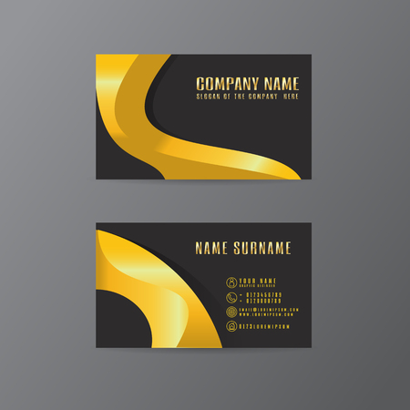 Vector creative leaf business card gold and black design of text vector creative leaf business card gold and black design of text royalty free cliparts vectors and stock illustration image 106903286 colourmoves