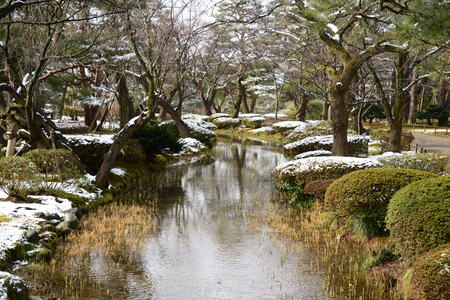 Spot Kenrokuen Garden Japan LANG_EVOIMAGES