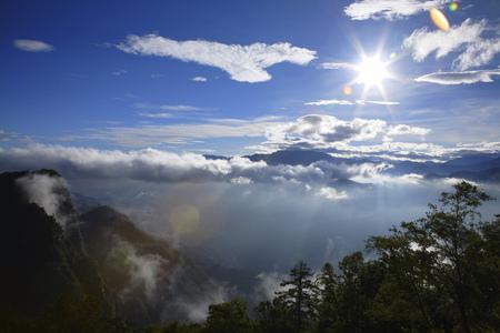 ali: Ali Mountain,sunrise