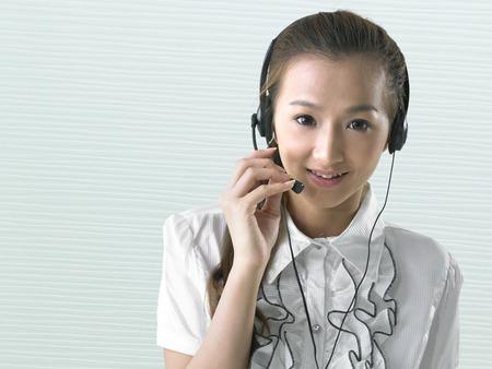 customer service representative: Business People