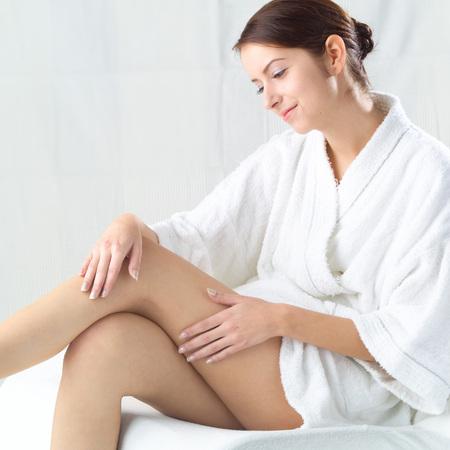 woman bath: Feminine Beauty