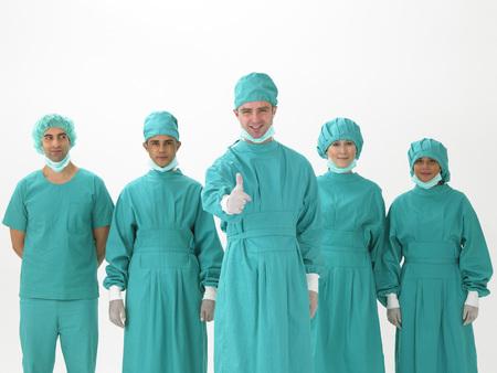 enfermera con cofia: Ocupación médica