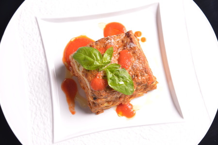 Potato sauce Lasagna