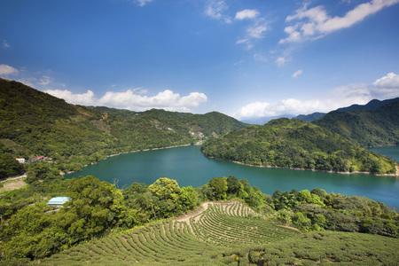 New Taipei City, Shiding, lake