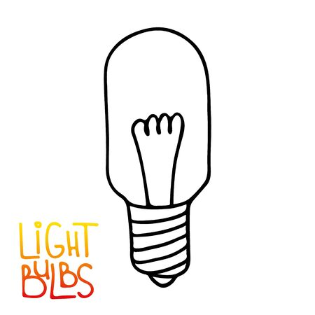 Light bulb icon. Concept of big ideas inspiration, innovation, invention, effective thinking. Isolated. Vector illustration.  Idea symbol.