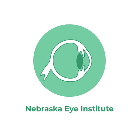 Vector isolated illustration of eye anatomy. Human ocular system icon. Healthcare medical center, surgery, hospital, clinic, diagnostic . Internal donor organ symbol poster design. Donation