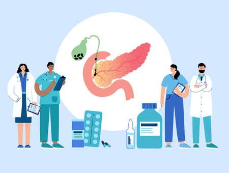 Pancreas  concept