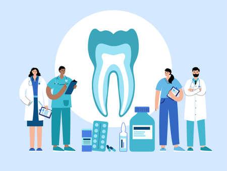 Dental clinic concept