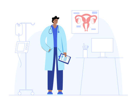 Gynecology clinic concept