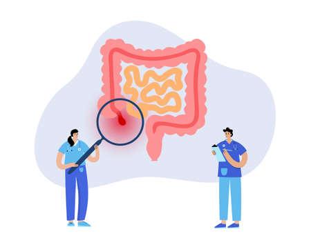 Appendix pain concept