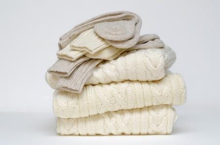 maglioni: Cavo irlandese tradizionale maglia calze e maglia di Aran