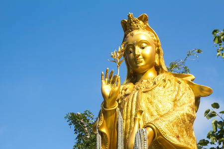 THE GODDESS OF COMPASSION AND MERCY photo