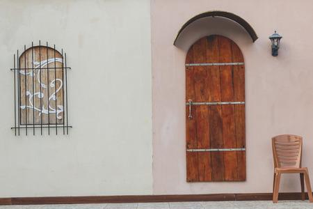 windows and doors: Doors and windows Classic Stock Photo