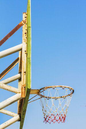 basketball hoop: basketball hoop Stock Photo