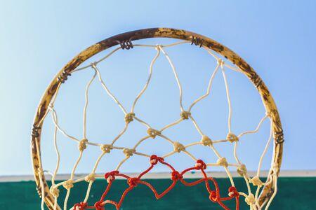 hoop: basketball hoop Stock Photo