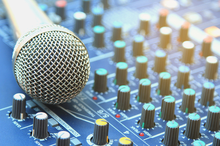 Analoog muziek opname-apparatuur