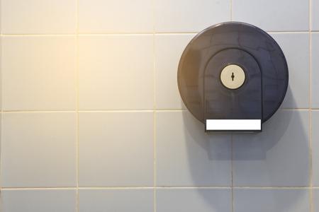 Boîte de papier toilette Banque d'images - 69657899
